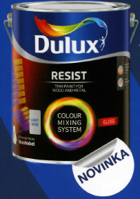 Dulux Resist Gloss base medium 4,5L