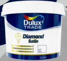 Dulux Diamond Satin base light 5L