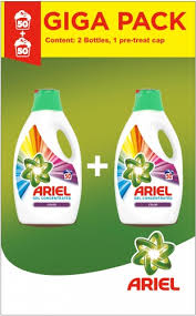 Ariel Giga pack color 100 dávek 2x2,75L